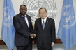 New Permanent Representative of Togo Presents Credentials