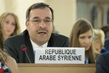 Representative of Syria Addresses Human Rights Council 7.1763067