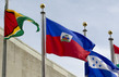 Flags of Member States Flying at UN Headquarters: Haiti 0.9940049