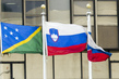 Flags of Member States Flying at UN Headquarters: Slovenia 1.5891409
