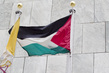 Flags of Observer States Flying at UN Headquarters: State of Palestine 1.0487064