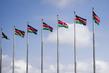 Kenyan Flags Fly in Nairobi 3.7035394