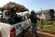 UNMISS Peacekeepers Patrol Area Around UN House Jebel, Juba 3.4860415