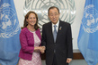Secretary-General Meets French Environment Minister and COP21 President 2.829771