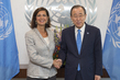 Secretary-General Meets President of Italian Chamber of Deputies