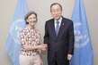 Secretary-General Meets Outgoing Permanent Representative of Belgium