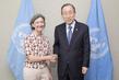 Secretary-General Meets Outgoing Permanent Representative of Belgium