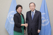 Secretary-General with Outgoing Permanent Representative of Singapore