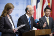Representatives of Japan, Republic of Korea, US Brief Press on DPRK 0.6521529