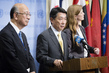 Representatives of Japan, Republic of Korea, US Brief Press on DPRK 0.6521484