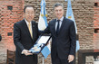 Secretary-General Awarded Argentinian Decoration 4.1085277