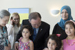 Secretary-General Meets Syrian Refugees in Canada 1.0