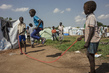 Displaced Children at Play, UN Transit Site in Juba 4.4539843