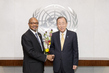 Farewell Call by Permanent Representative of Benin