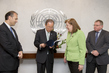Secretary-General Receives Report of OPCW-UN Joint Investigative Mechanism