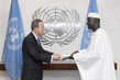 New Permanent Representative of Mali Presents Credentials 1.1984984