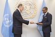 New Permanent Representative of Benin Presents Credentials 0.6725218