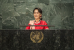 State Counsellor of Myanmar Addresses General Assembly 1.0