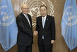 Secretary-General Meets Prime Minister of Lebanon 1.0