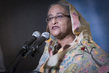 Prime Minister of Bangladesh Briefs Media on Water 1.0628055