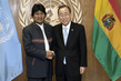 Secretary-General Meets President of Bolivia 1.0