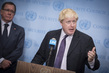 United Kingdom Foreign Secretary Briefs Press on Aviation Security 0.65176344