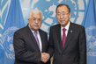Secretary-General Meets President of State of Palestine 1.0487064
