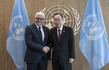 Secretary-General Meets Foreign Minister of Germany 2.8208213