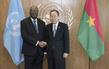 Secretary-General Meets President of Burkina Faso​​ 2.8203032