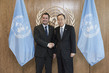Secretary-General Meets Prime Minister of Luxembourg 2.8208213