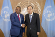 Secretary-General Meets Foreign Minister of Republic of Congo 2.8208213