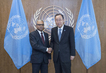 Secretary-General Meets Foreign Minister of Maldives 2.8208213
