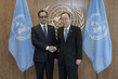 Secretary-General Meets Foreign Minister of Mauritania 2.8203032