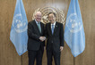 Secretary-General Meets Foreign Minister of Ireland 2.8203032