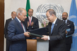 Secretary-General, Head of Arab League Sign Protocol 2.8203032