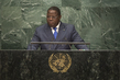Foreign Minister of Gabon Addresses General Assembly 3.2120113