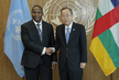 Secretary-General Meets President of Central African Republic 1.0