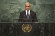 Foreign Minister of Maldives Addresses General Assembly