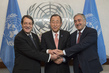 Secretary-General Meets Greek Cypriot and Turkish Cypriot Leaders 2.8203032