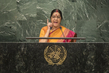 Foreign Minister of India Addresses General Assembly
