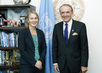 Deputy Secretary-General Meets State Secretary of Sweden 7.251647