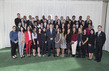 President of the General Assembly with Youth Delegates 1.1504524