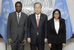 Secretary-General Meets with Prime Minister of Haiti and Foreign Minister of Venezuela 1.0