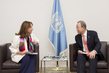 Secretary-General Meets President of COP21 1.0