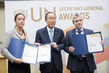 Secretary-General Bestows SG 2016 Awards on Sustainable UN Team 1.0