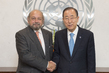 Secretary-General Meets President of International Court of Justice