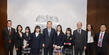 Secretary-General Meets Yokohama Peace Messengers