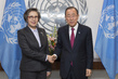 Secretary-General Meets Special Rapporteur on Myanmar