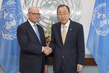 Secretary-General Meets UN Representative to Geneva International Discussions
