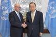Secretary-General Meets UN Representative to Geneva International Discussions